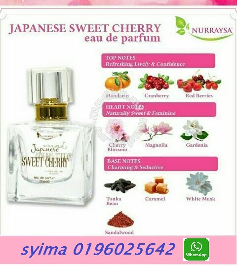 buy alcohol free cherry perfumes online I 60196025642