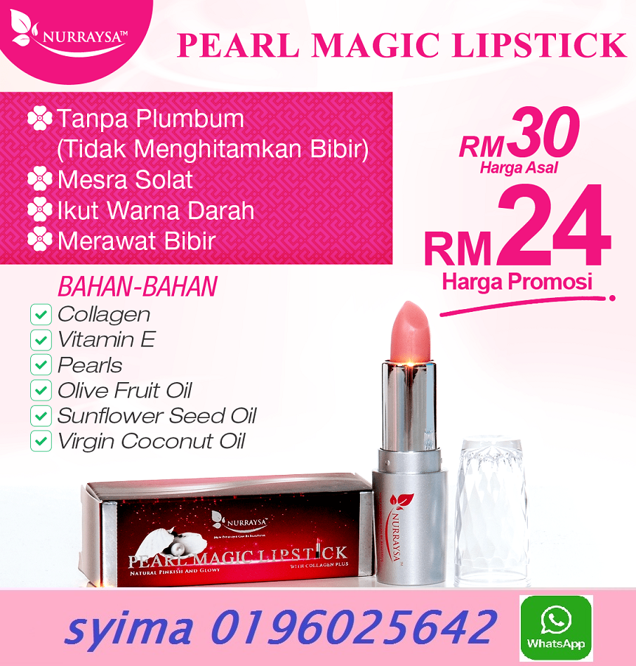 halal lipstick collagen made in malaysia I syima 60196025642