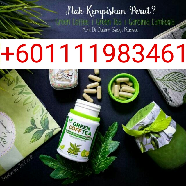 pil kopi hijau original Green Coffee Tea +601111983461