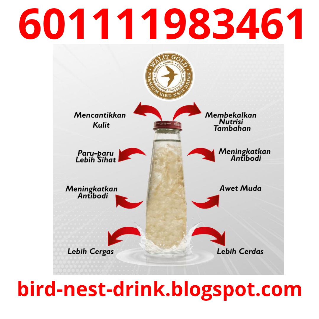 pure bird nest drink walit gold damansara 601111983461