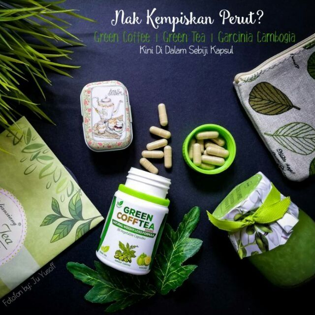 green coffee tea GCT lulus kkm dan halal +601111983461